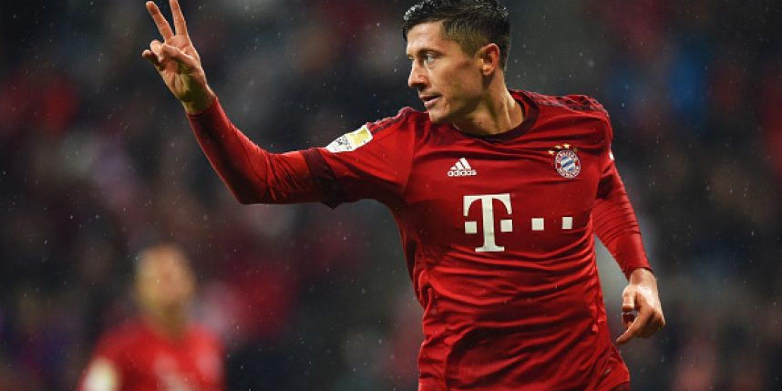9. Robert Lewandowski / 70 millones de euros Foto:Getty Images