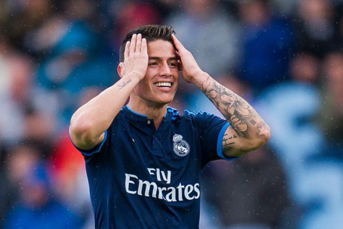 7. James Rodríguez / 70 millones de euros Foto:Getty Images