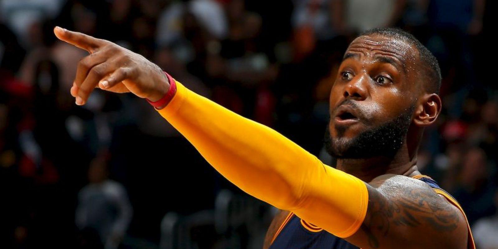 """Pero LeBron James pone en duda que """"Steph"""" sea el MVP Foto:Getty Images"""