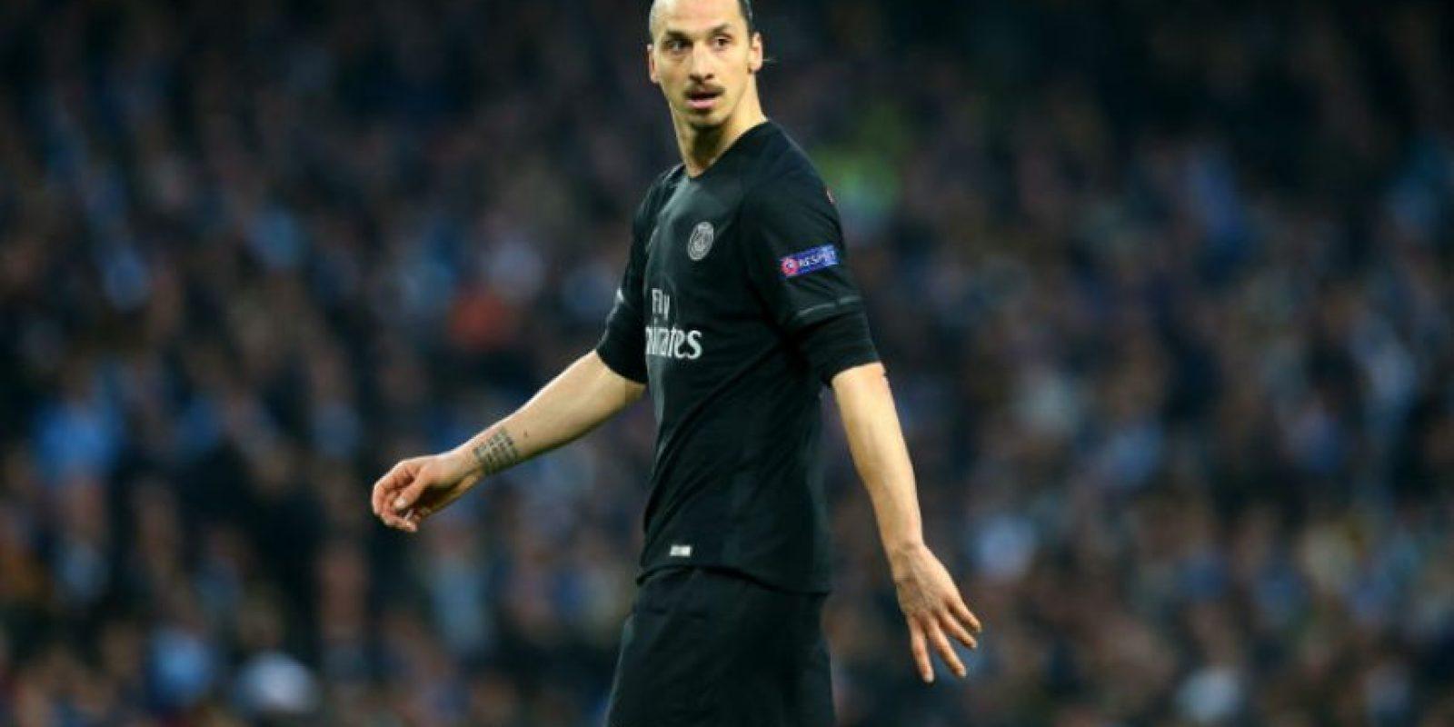 Zlatan Ibrahimovic deja al PSG Foto:Getty Images