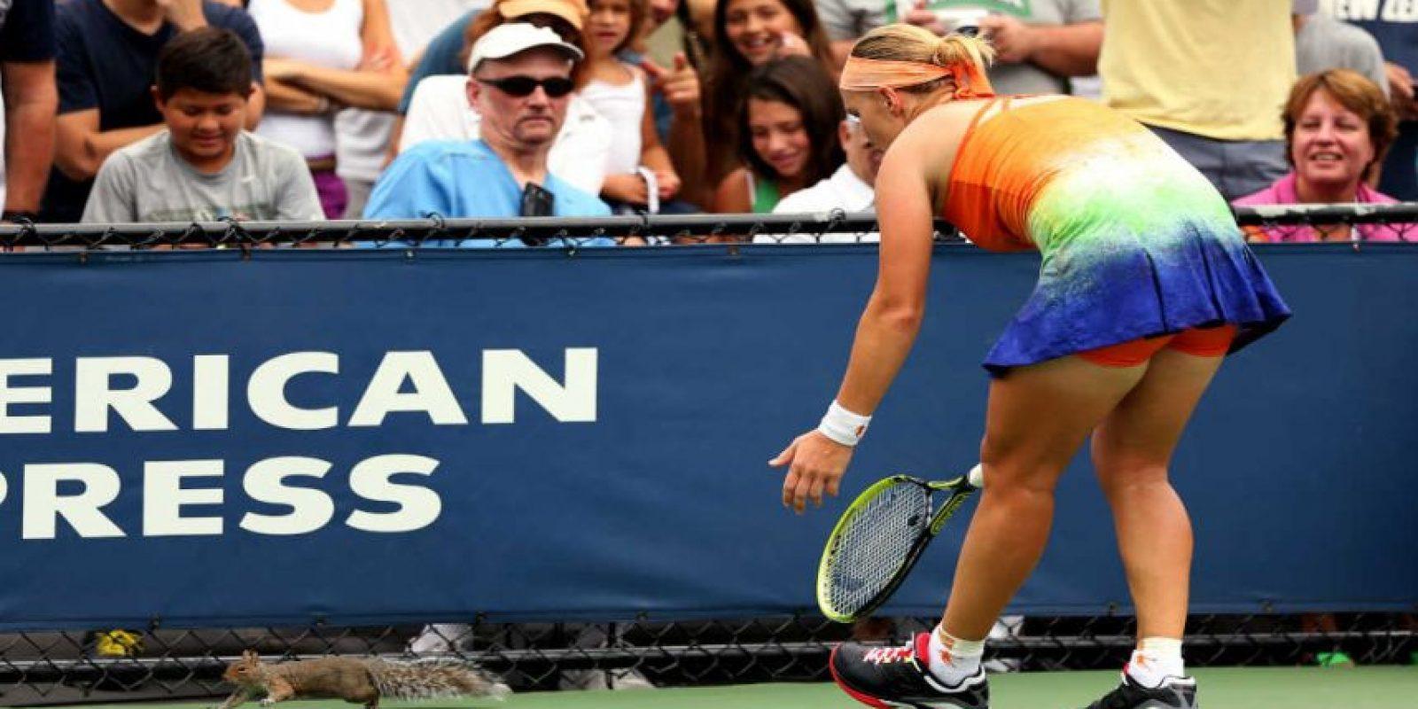 ¡Y de tenis también! Foto:Getty Images