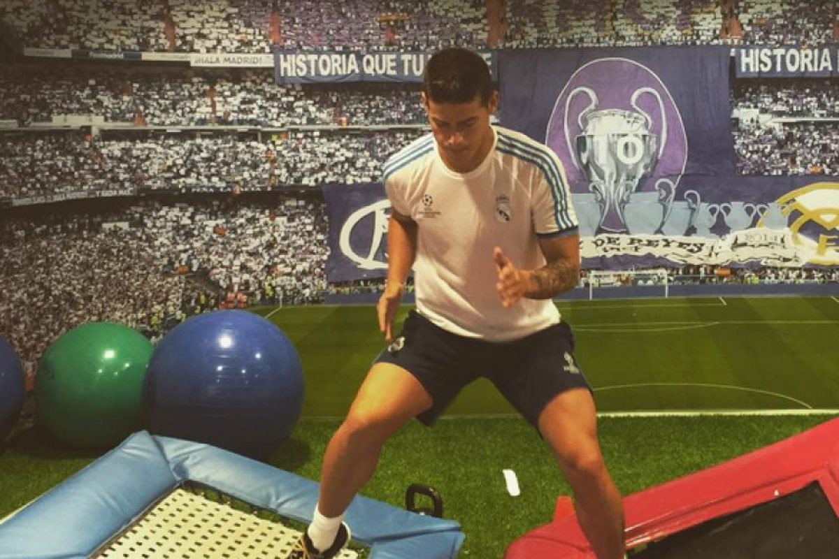 Foto: https://www.instagram.com/jamesrodriguez10/
