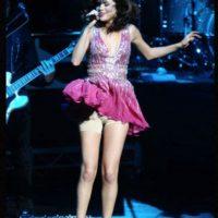 El spándex de Selena. Foto:vía Getty Images