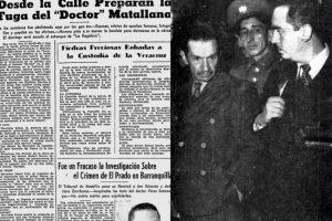 3. El 'Doctor Mata'. Foto: Derecha, Archivo digital El Tiempo. Izquierda: Archivo Fondo Rotatorio Judicial.