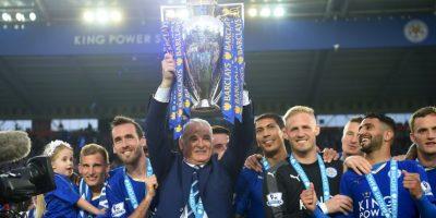 Claudio Ranieri hizo lo impensable Foto:Getty Images