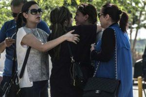 Las familias demuestran su angustia y dolor. Foto:AFP
