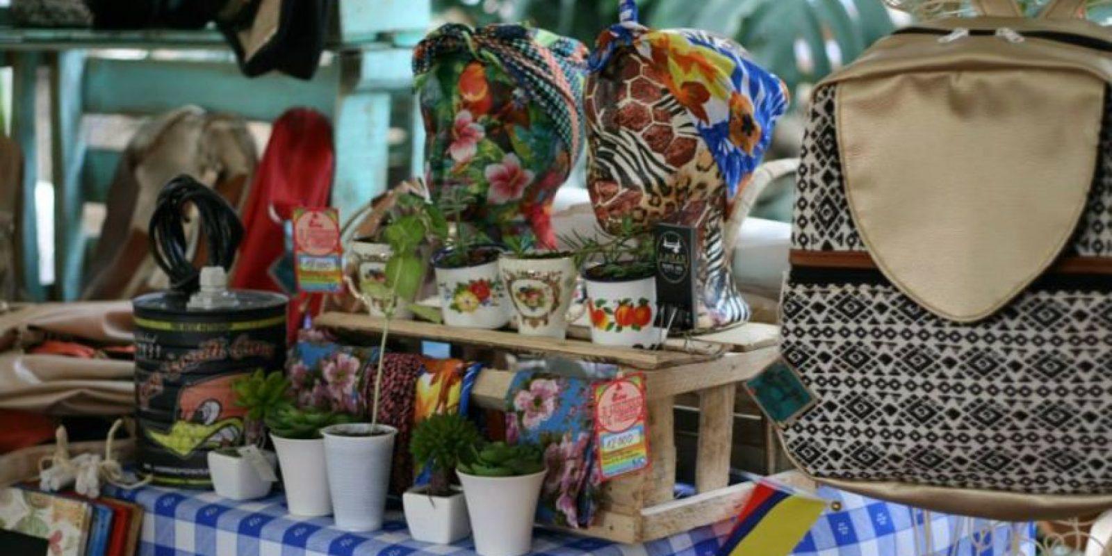 Natural Bazar, un evento en el que artistas y creativos independientes de Medellín en el Parque Cultural MAMM Ciudad del Río. Foto:Tomada de Facebook Bazar de artistas y creativos