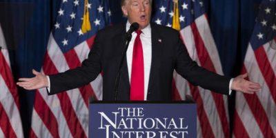 Donald Trump es el único candidato republicano que busca conquistar la Casa Blanca. Foto:AP