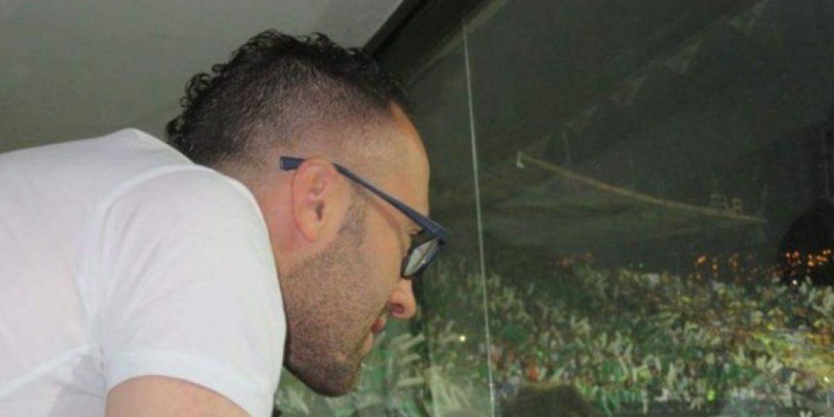 Ospina estuvo en el partido Nacional VS Rosario Central
