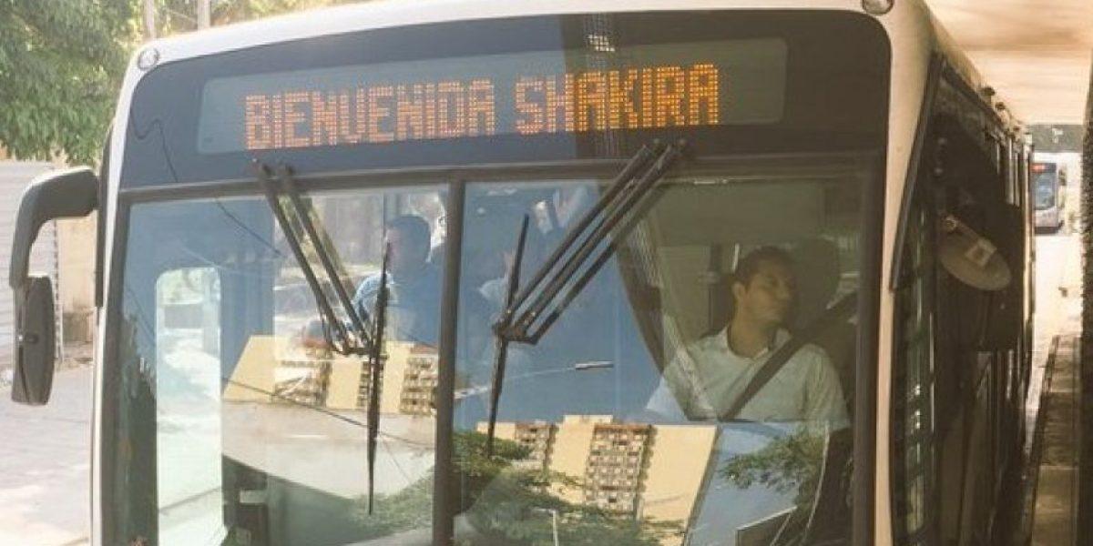 Curiosa respuesta de CM de Transmetro a usuaria por llegada de Shakira a Barranquilla