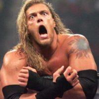"""Edge. La superestrella categoría """"R"""" también tuvo combates violentos y sangrientos Foto:WWE"""