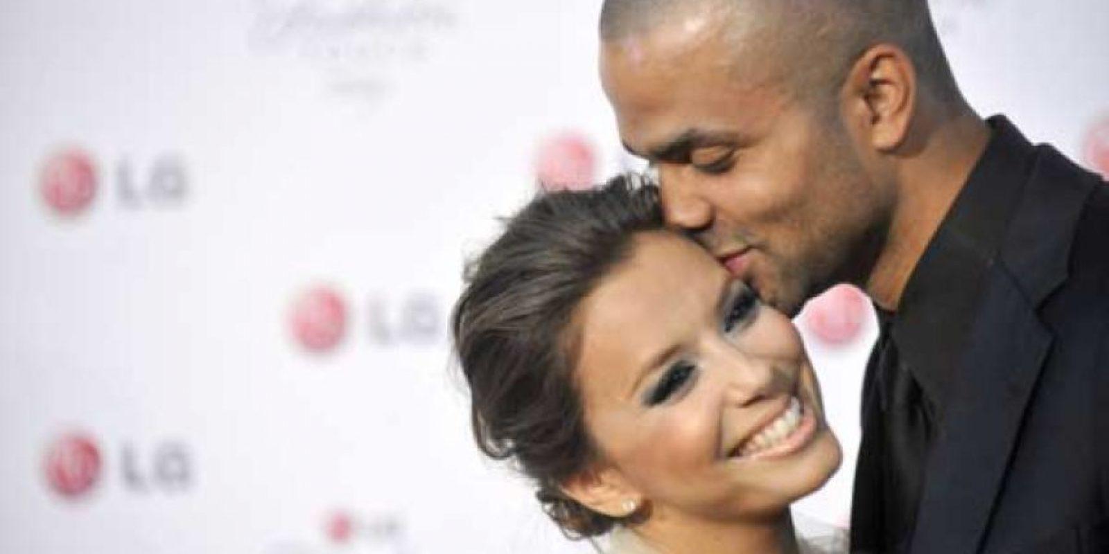Y en 2007 volvió a encontrar el amor en el jugador de baloncesto Tony Parker Foto:Getty Images