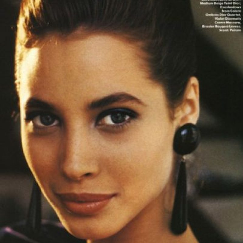 Christy Turlington era la más simpática de las supermodelos. Foto: vía Vogue