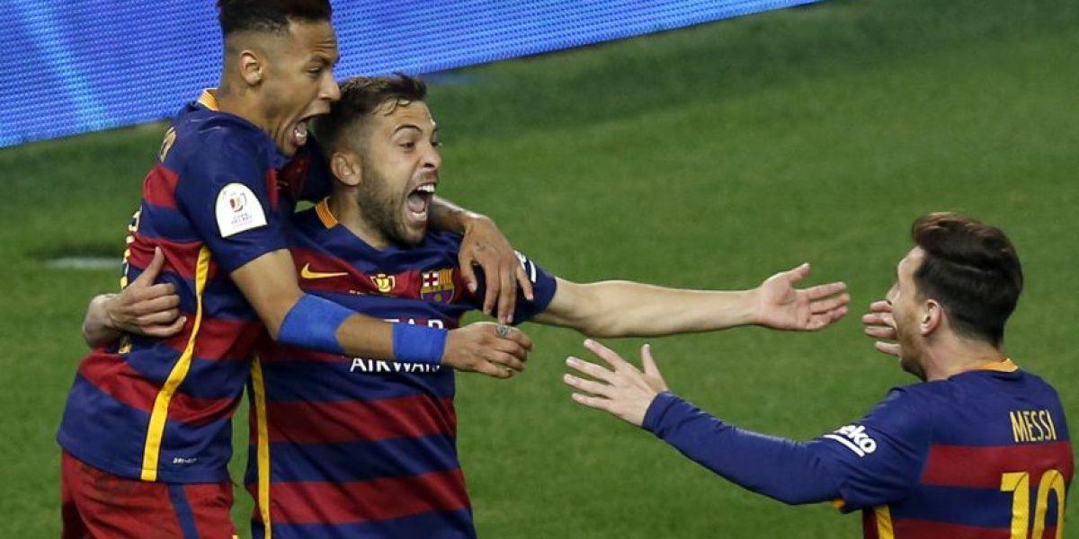 Barcelona campeón de la Copa del Rey, supera a un aguerrido Sevilla