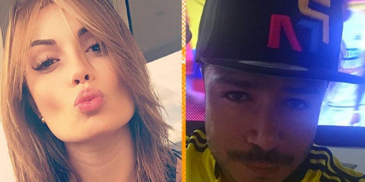Sara Uribe habría vuelto con el cantante Daniel Calderón