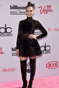 Jessica Alba como niña gótica wannabe Foto:vía Getty Images