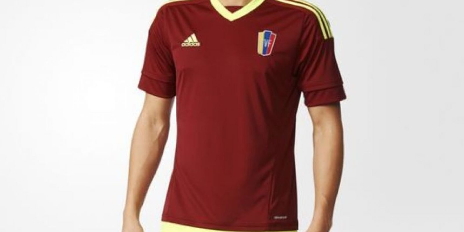 Foto:Tomado de http://www.adidas.co/camiseta-local-seleccion-venezolana-2014-2015/S08905.html