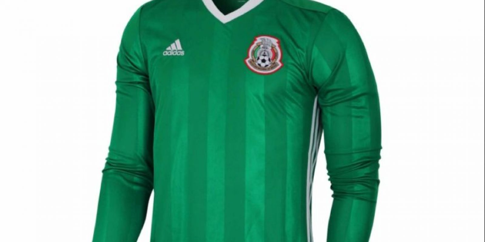 Foto: Tomado de https://www.tienda.miseleccion.mx/product/42912-jersey-adidas-futbol-seleccion-mexicana-local-fan-1617-manga-larga.html#/15-color-verde/1-talla-ch