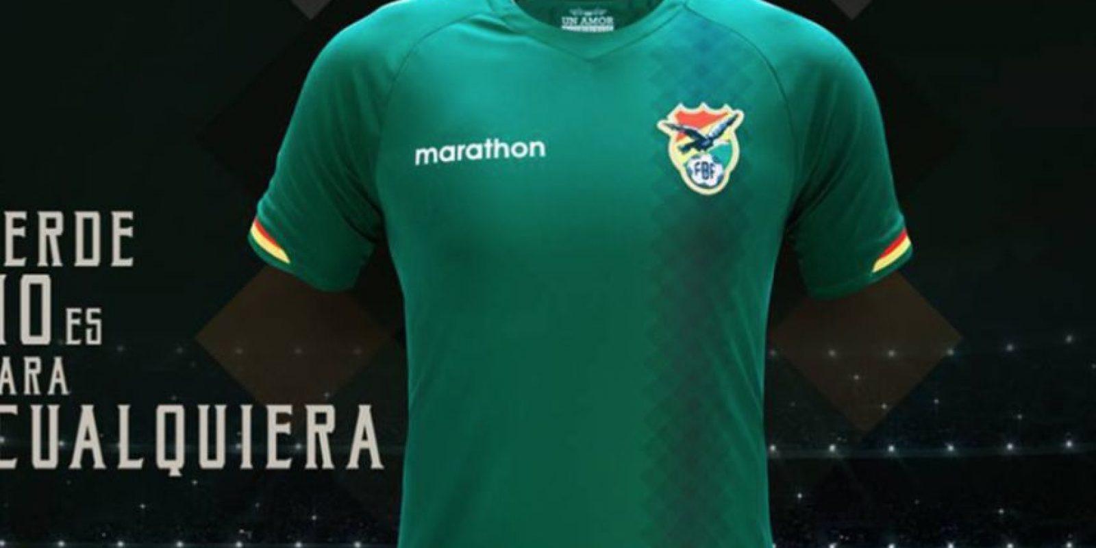 Foto:Tomado de http://www.marketingdelosdeportes.com/index.php/nueva-camiseta-marathon-de-la-seleccion-de-bolivia/