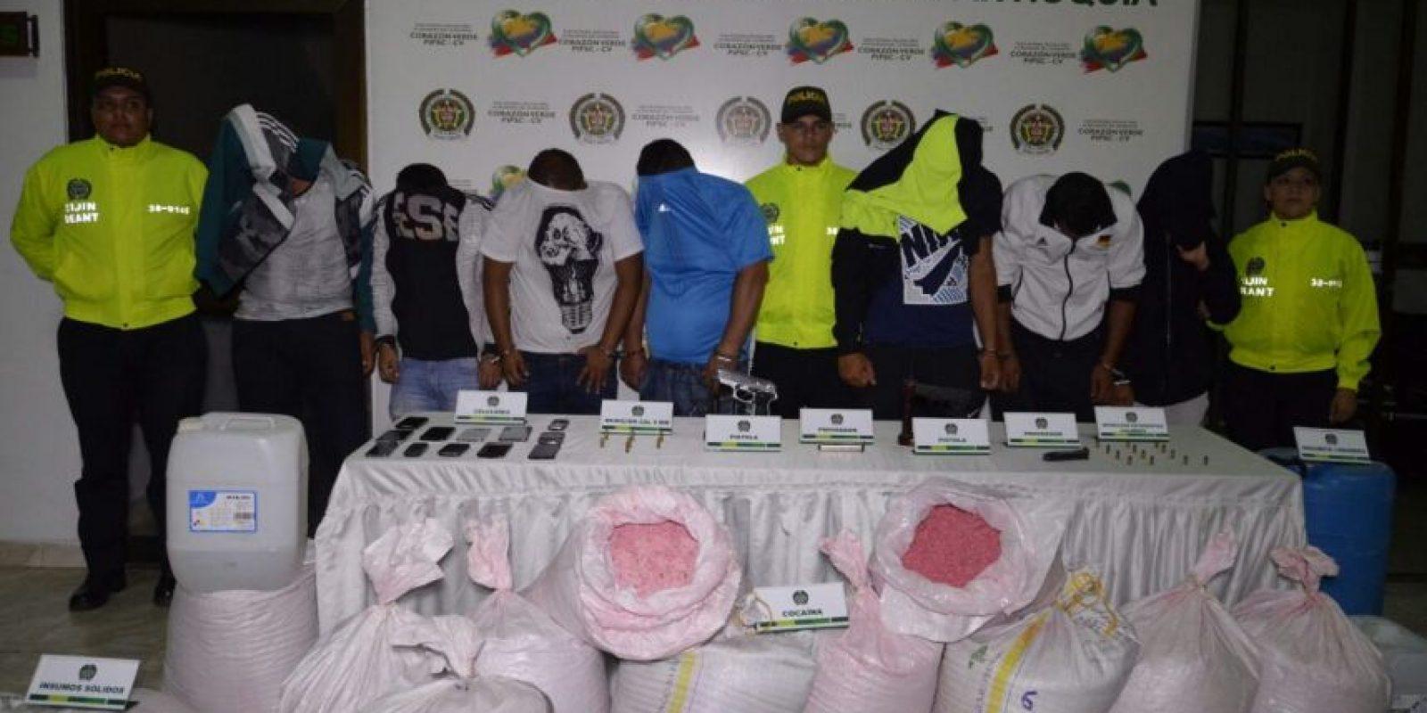 Foto:Cortesía Polícia de Antioquia