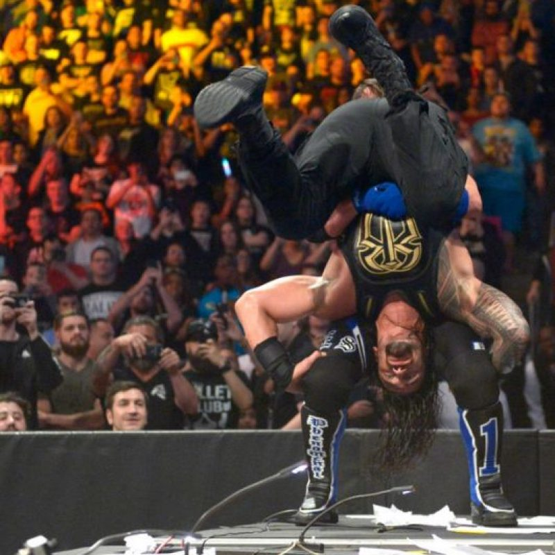 Y castigos espectaculares. Foto:WWE