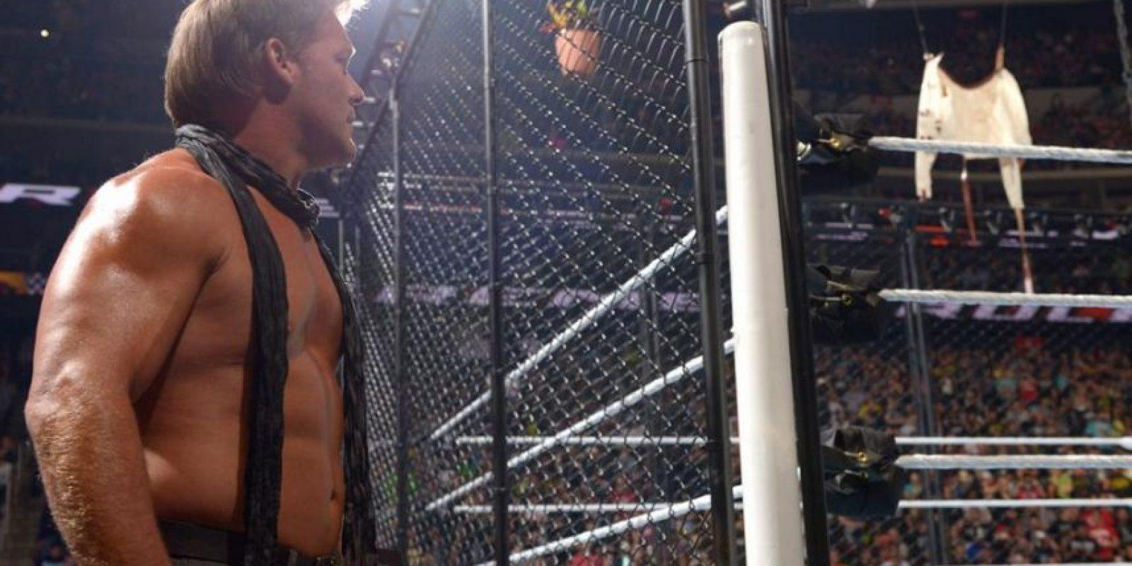 """Chris Jericho perdió el """"Asylum Match"""" ante Dean Ambrose Foto:WWE"""