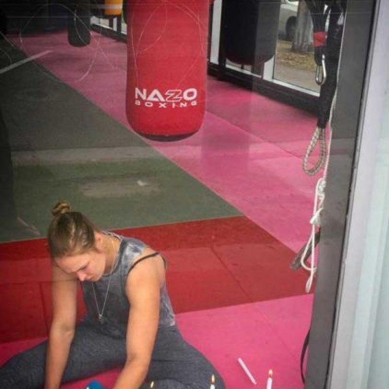 La excampeona del peso gallo de la UFC se prepara para volver. Foto:Vía instagram.com/rondarousey
