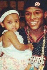 Iyanna Mayweather es la adoración de su padre, Floyd Mayweather. Foto:Vía instagram.com/floydmayweather