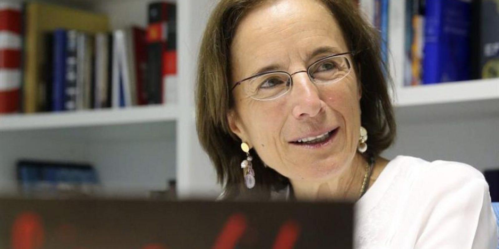 Salud Hernández-Mora, periodista española. Foto:EFE