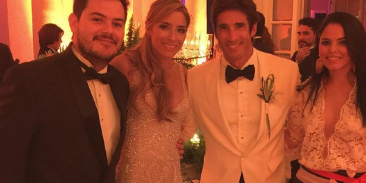 Se casó el exnovio de Valerie Domínguez