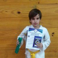 Tambié practica otros deportes como taekwondo Foto:Vía twitter.com/BonomoSabri