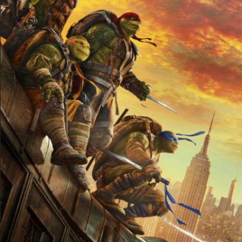 Foto:Poster Tortugas Ninja 2