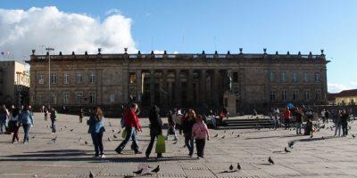 Familias buscan tomarse la foto más turística del centro de Bogotá Foto:Archivo Publimetro