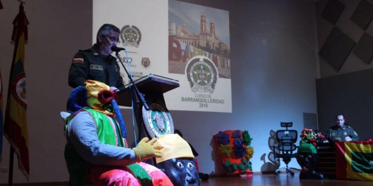 Capacitan a Policías de otras regiones con curso de 'Barranquilleridad'