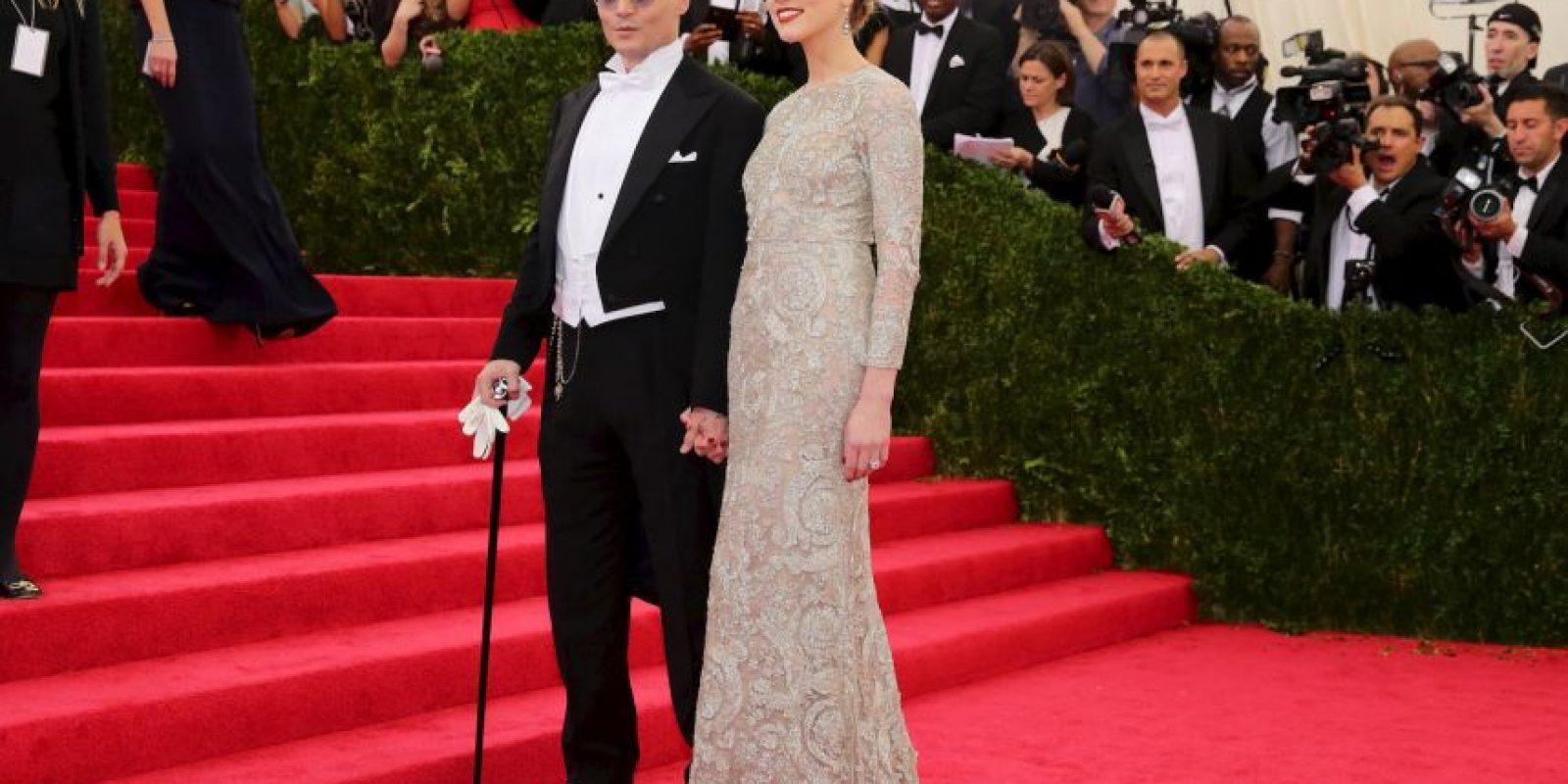 Así lucía la pareja hasta hace poco Foto:Getty Images
