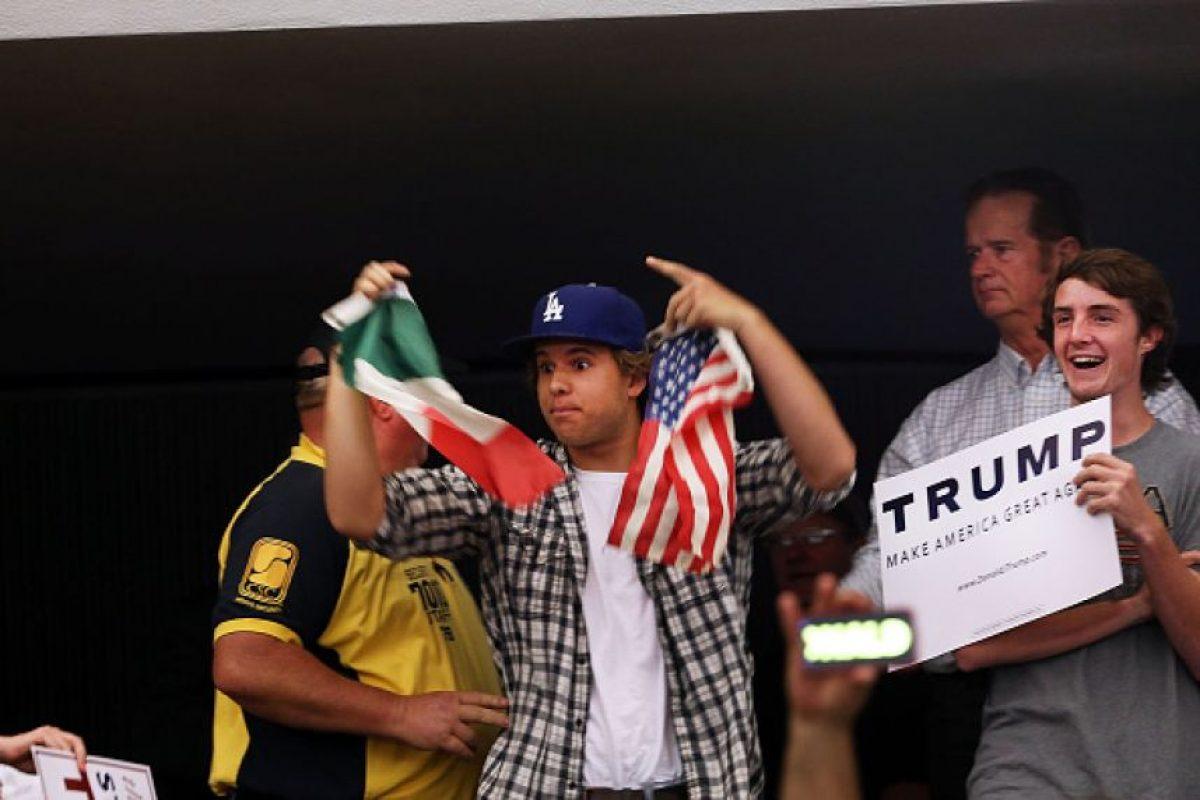 """California """"se enciende"""" en contra de Trump Foto:Getty Images"""