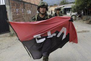 El ministerio de Defensa informó que el ELN era el responsable Foto:AFP