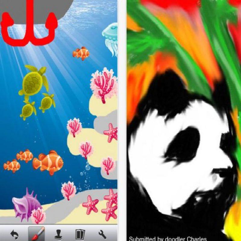 1.- Doodle Buddy Foto:App Store