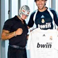 REAL MADRID: 1. Rey Misterio (Luchador) Foto:WWE