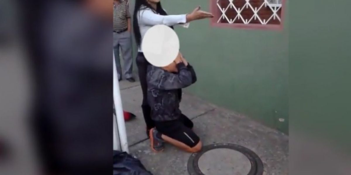 Esta sería la mujer que desnudó a un ladrón en Bogotá