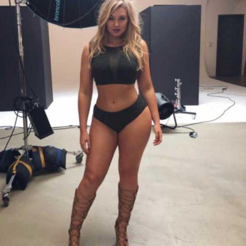 La modelo y editora de moda, Iskra Lawrence, conquistó Instagram Foto:via instagram.com/iamiskra
