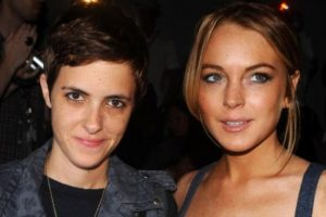 Samantha Ronson y Lindsay Lohan tenían peleas públicas. Foto:vía Getty Images