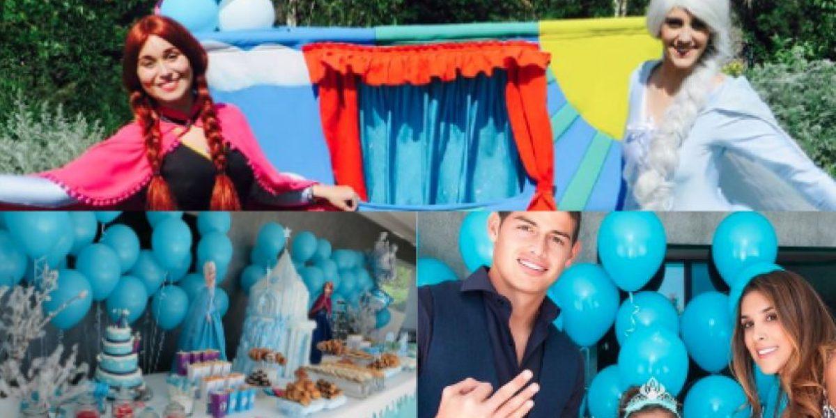 James Rodríguez y Daniela Ospina celebraron el tercer cumpleaños de su hija Salomé