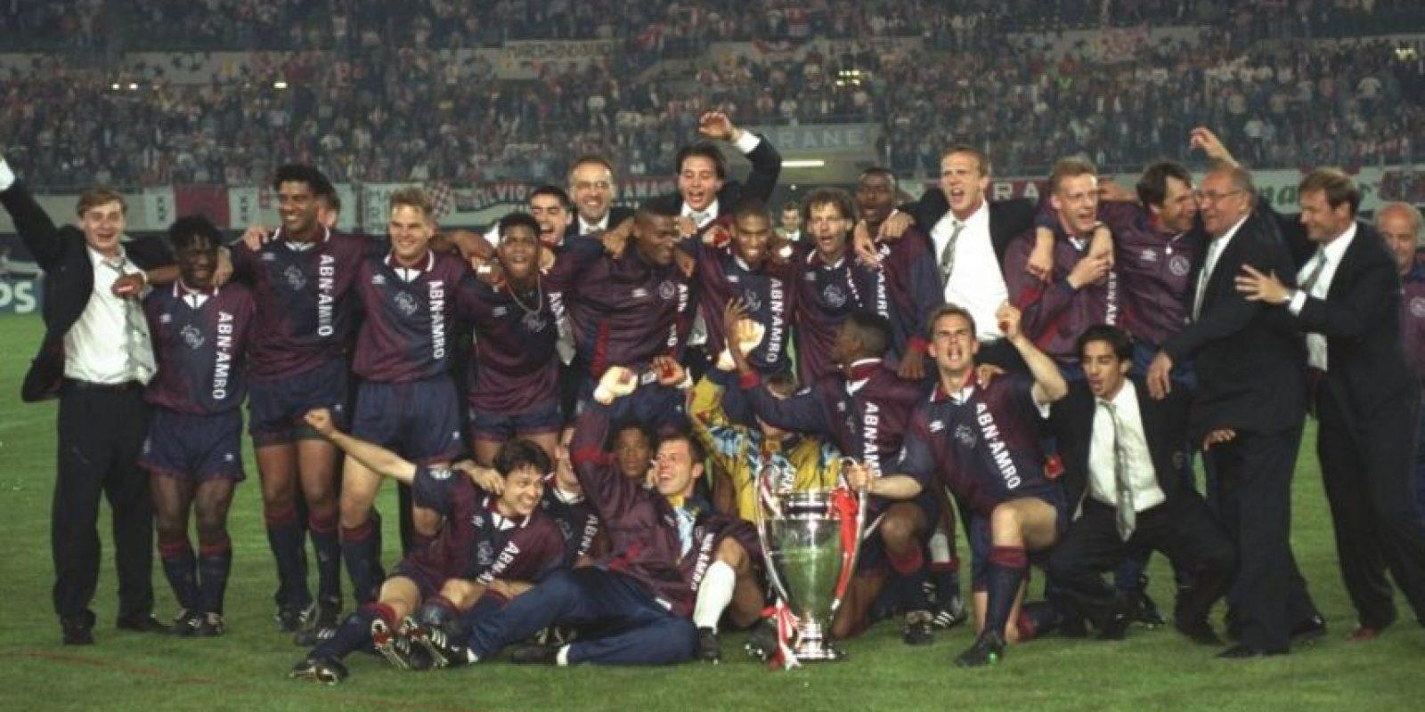 Ajax (Holanda)-4 títulos: 1971, 1972, 1973, 1995 Foto:Getty Images