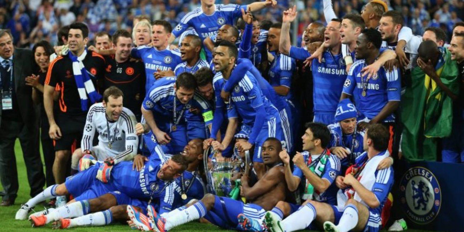 Chelsea (Inglaterra)-1 título: 2012 Foto:Getty Images
