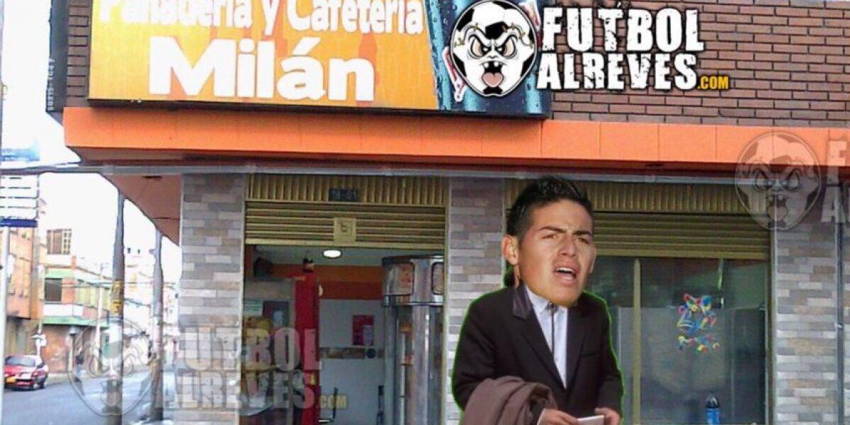 Memes de James Rodríguez en la final de la Champions League