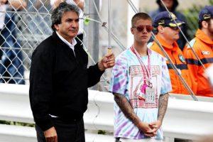 El ídolo juvenil Justin Bieber estuvo presente en el Gran Premio de Mónaco. Foto:Getty Images
