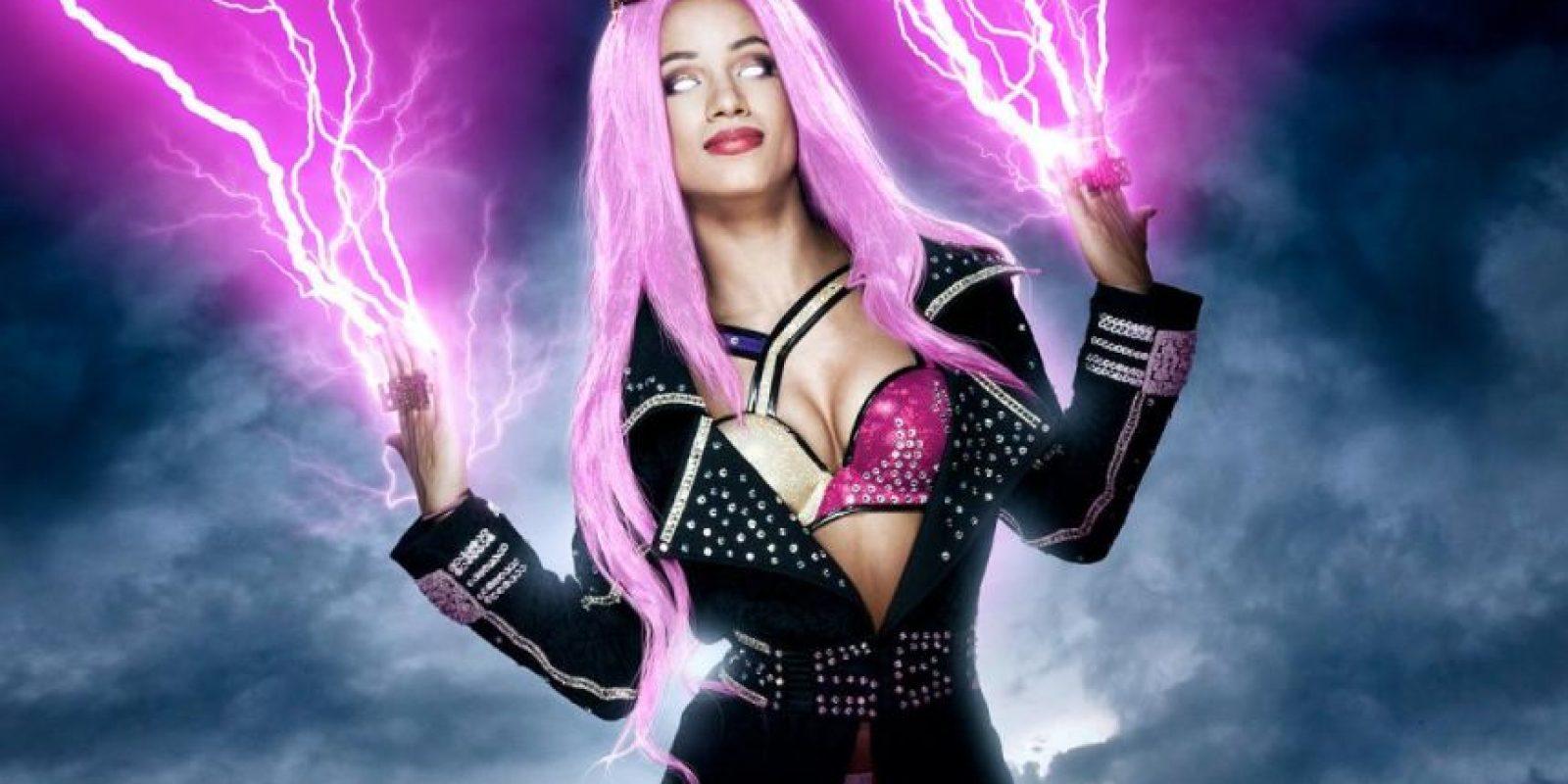 10. Sasha Banks Foto:WWE
