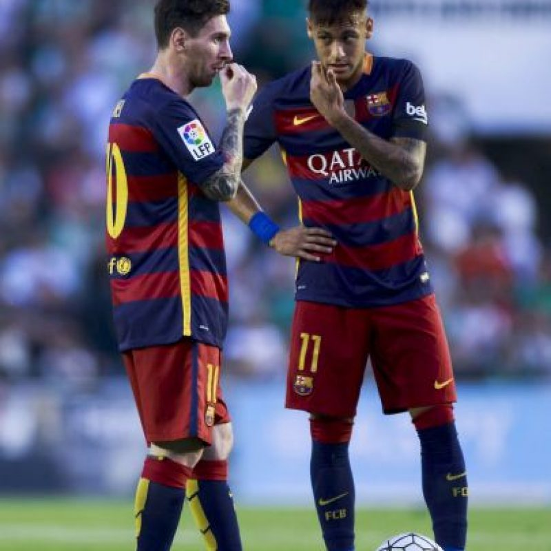 Lionel Messi no atraviesa un buen momento físico y psicológico Foto:Getty Images