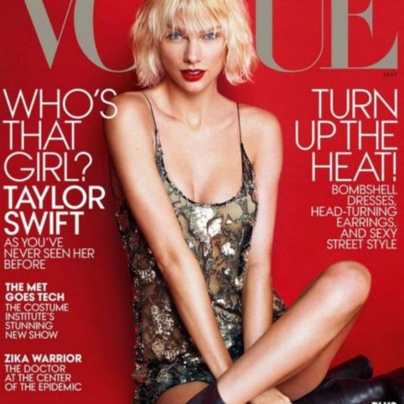 """Y ahora tiene un look más """"rebelde"""". Foto:vía Vogue"""
